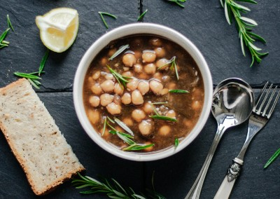 Chickpea (Garbanzo) Mediterranean Soup