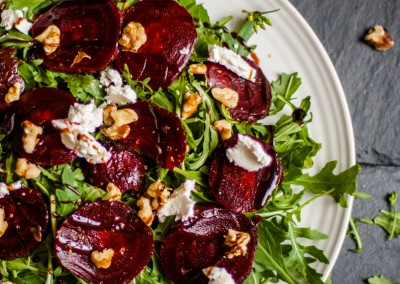 Beetroot, Walnut & Goat's Cheese Salad