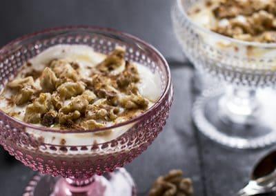 Greek Yoghurt with Honey and Walnuts