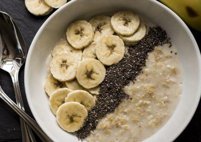 Porridge with Banana & Chia Seeds