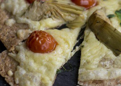 Healthy Vegetarian Pizza